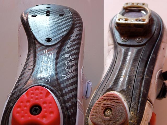 Sidi Laser vs Sidi Genius 5.5 soles