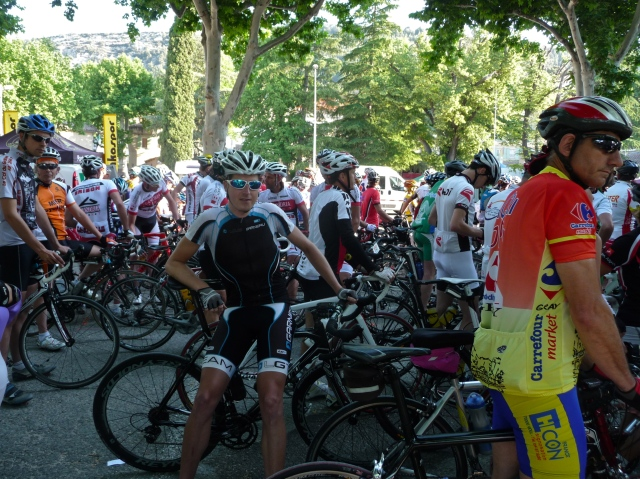 The Start in Beaumes-de-Venise
