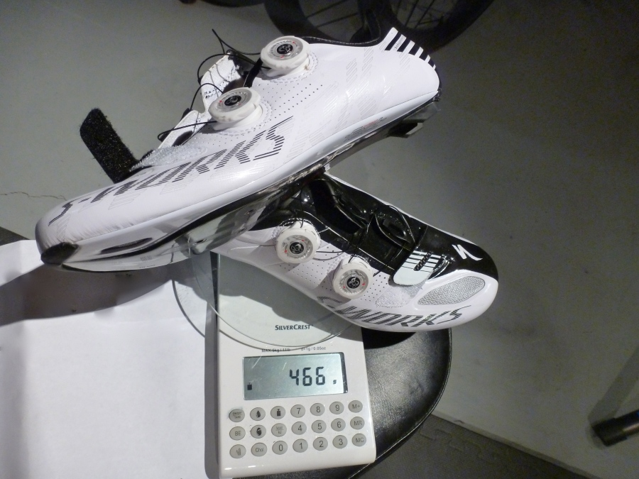 S-Works Shoes Weight (42)