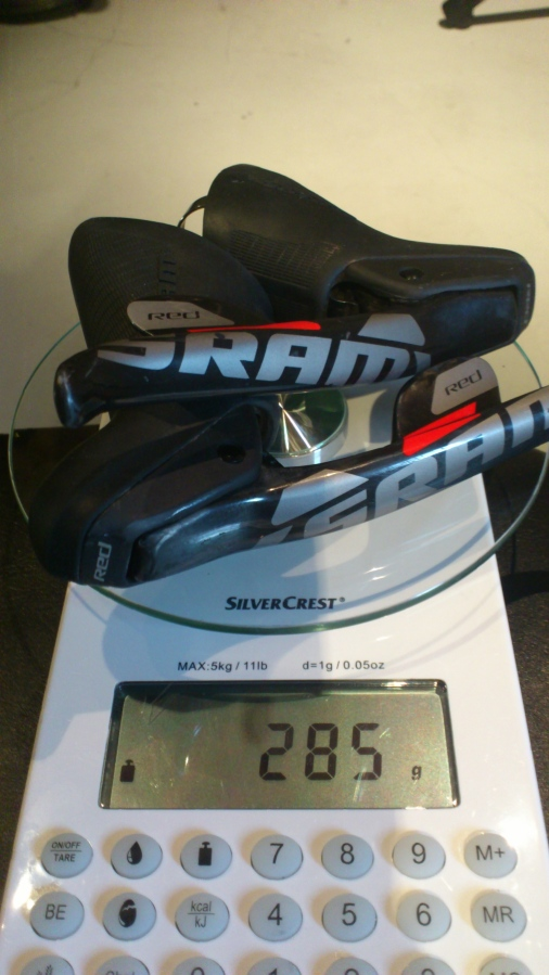 SRAM Red Levers