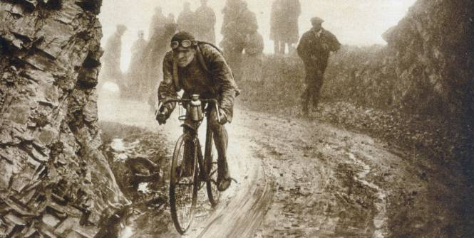 Lucien Buysse, 1926 during the 326km mountain stage up Aubisque, Tourmalet, Aspin, Peyresourde.