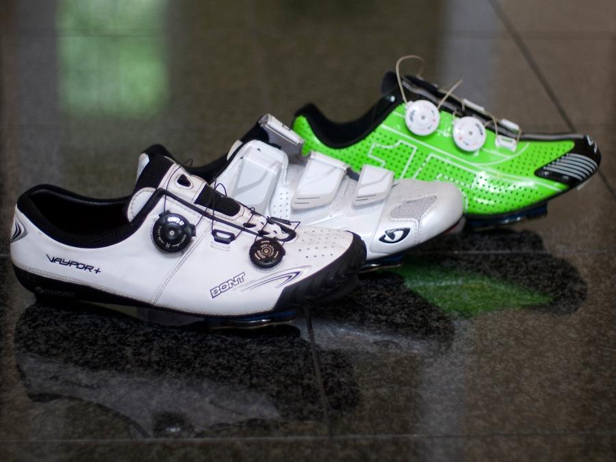 Bont vs Giro vs Spiuk