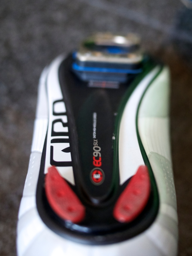 Giro uses Easton's EC90 Carbon sole