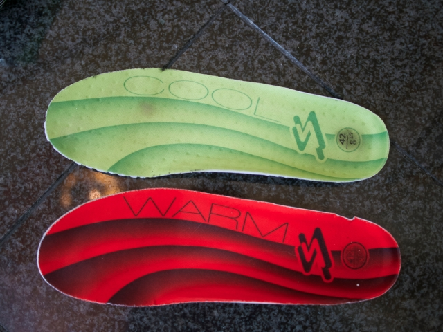 Cool and Warm Spiuk insoles