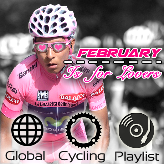 Global Cycling Music Playlist (February 2015)